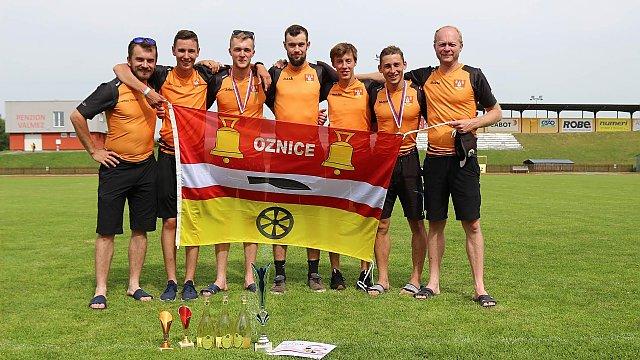 Okresní kolo v Požárním sportu žen, mužů a mužů nad 35 let ve Valašském Meziříčí